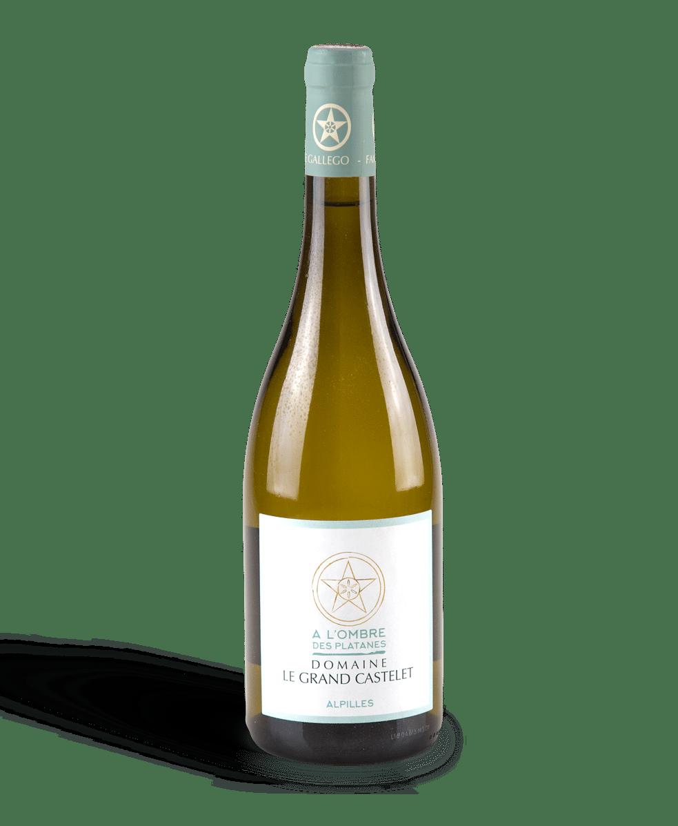 Vin Parcellaire, À l'ombre des platanes, Blanc