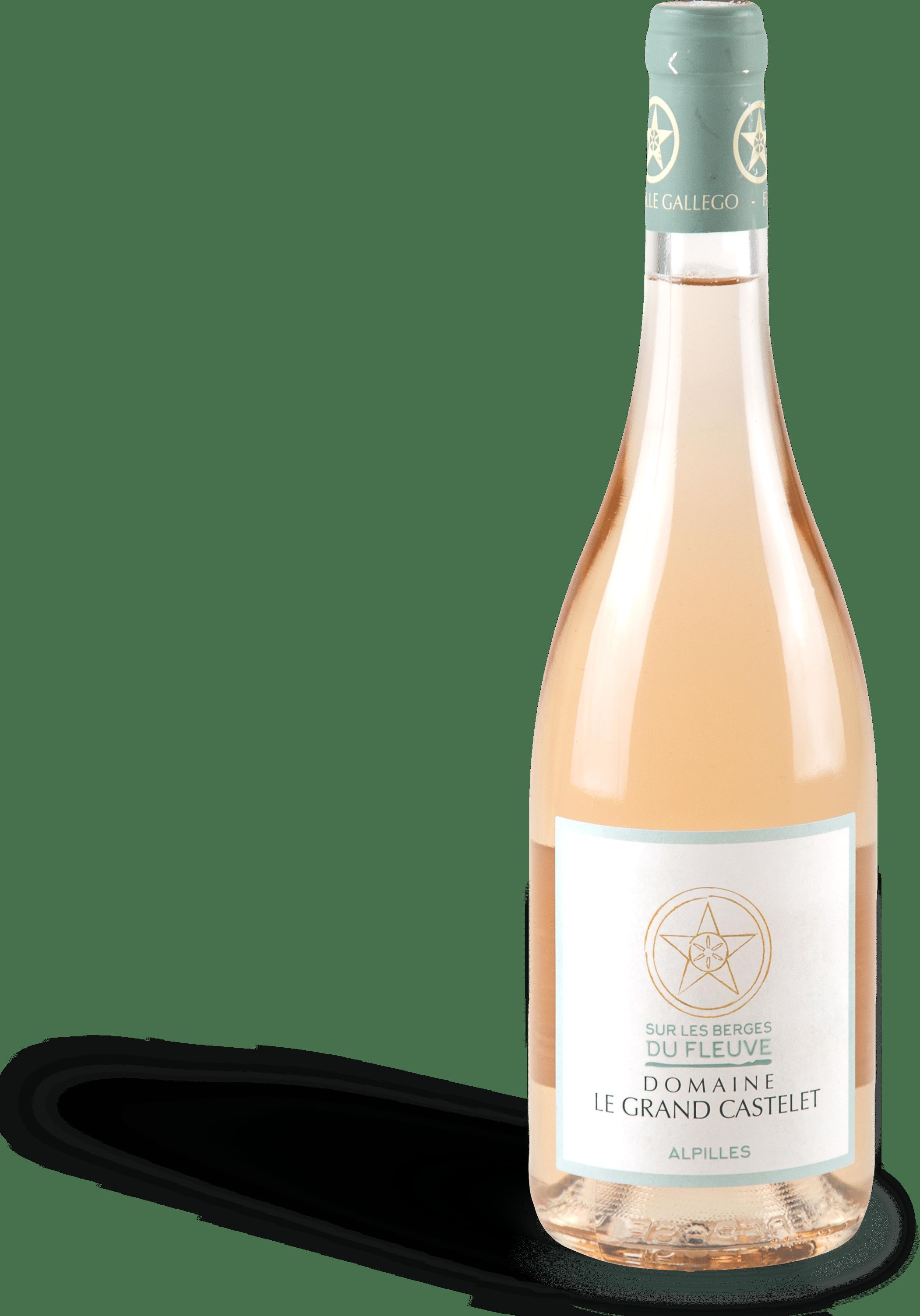 bottle sur les berges du rhône